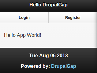 Custom Block in DrupalGap