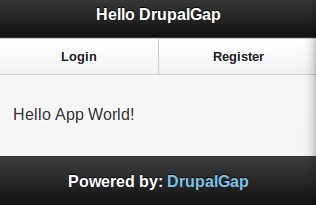 DrupalGap Sample Page