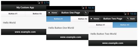 Multi page app